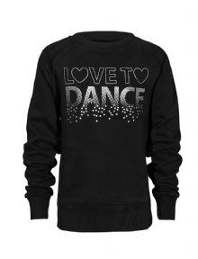 Children's 'Love To Dance' Sweatshirt